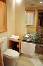 上海 中山公園近くのサービスアパートメント画像(トイレ)