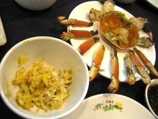 到着日の夕食---『図安蟹味館』 (sestosenso)